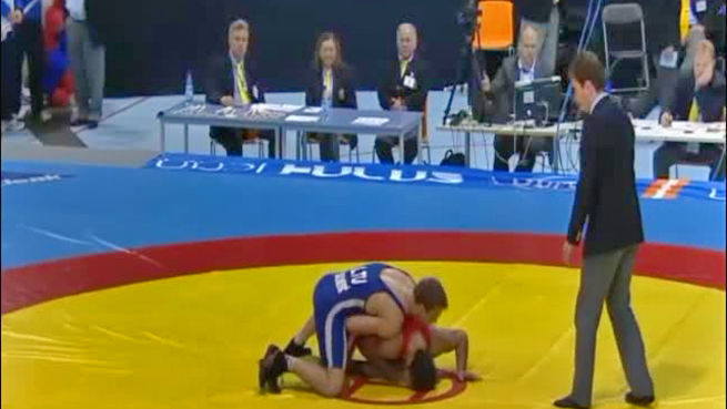 go to European wrestling competition